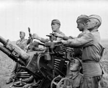 Подготовка зенитчиков для фронта.(ч.3)