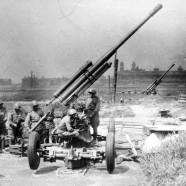 Подготовка зенитчиков для фронта.(ч.1)